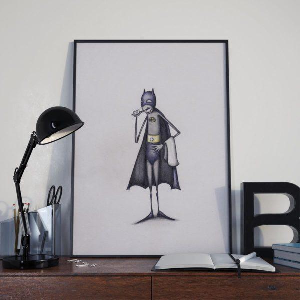 Bat-brush