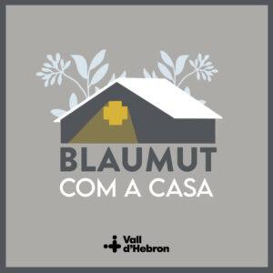 """Portada de """"Com a Casa"""" de Blaumut"""