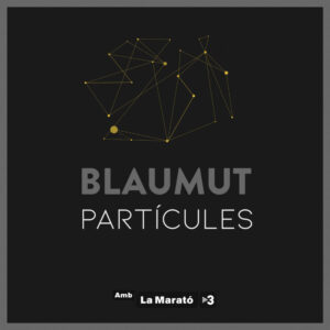 "Portada de ""Partícules"" de Blaumut"